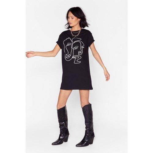 Dressing Gown T-Shirt Deux Visages - Nasty Gal - Modalova