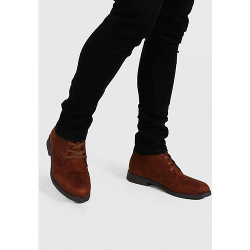 Desert boots style daim - Boohooman - Modalova