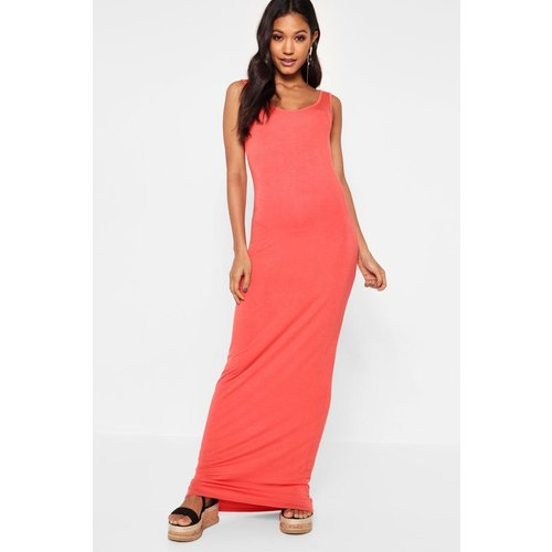 Robe Maxi - Orange - 32, Orange - boohoo - Modalova