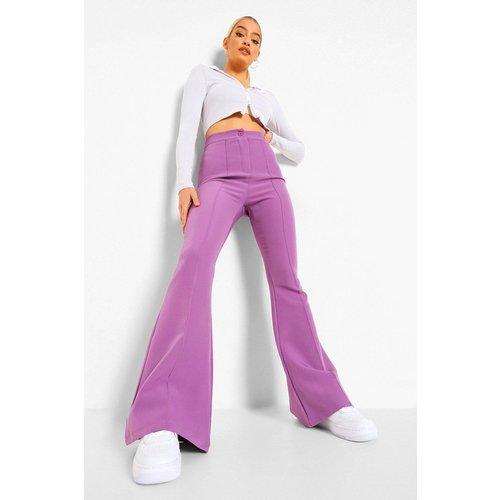 Pantalon Pattes D'Eph Tissé - boohoo - Modalova