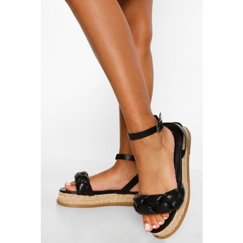 Chaussures Compensées Style Espadrille - boohoo - Modalova