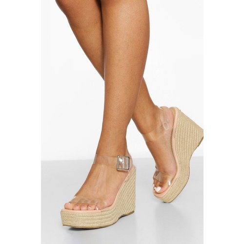 Sandales À Talons Compensés - boohoo - Modalova