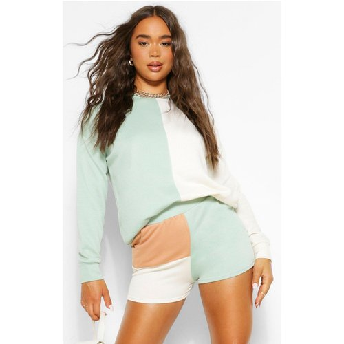 Short De Jogging Colorblock - boohoo - Modalova