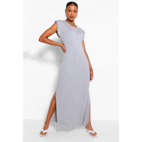 Robe Longue En Jersey À Épaulettes - - M/L - boohoo - Modalova