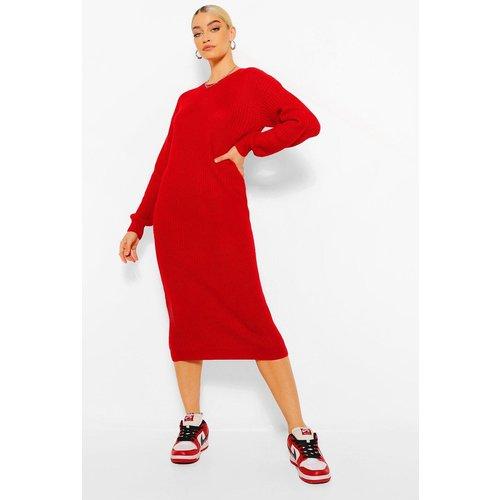 Robe Pull Mi-Longue - boohoo - Modalova