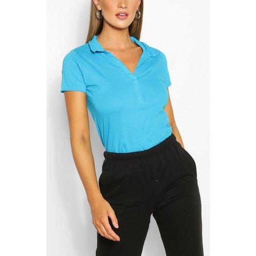 T-Shirt Polo Basique - boohoo - Modalova