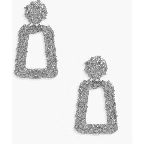Petites Boucles D'Oreilles Élégantes Texturées - boohoo - Modalova