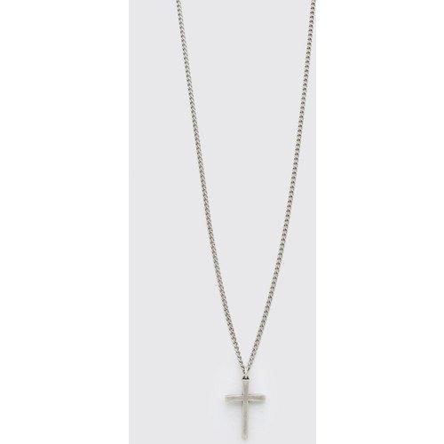 Collier à pendentif croix - Boohooman - Modalova