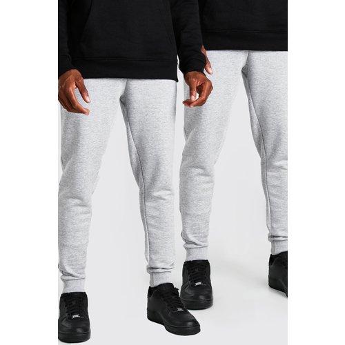 Lot de 2pantalons de jogging skinny basique - Boohooman - Modalova
