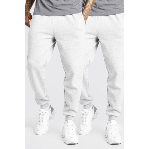 Lot de 2 joggings - Boohooman - Modalova
