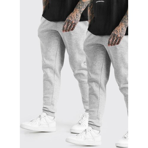 Lot de 2 joggings slim - Boohooman - Modalova
