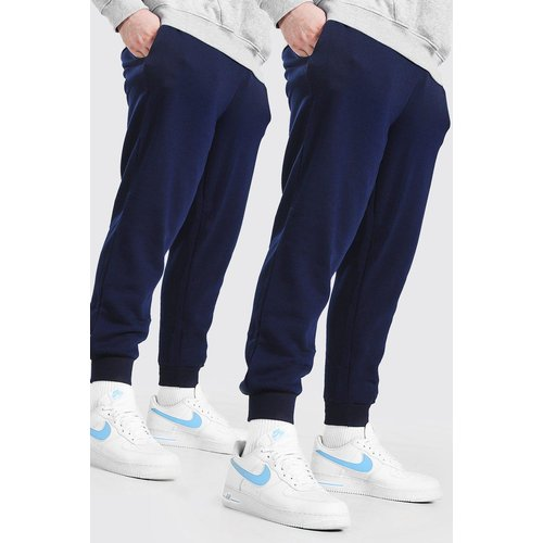Lot de 2 joggings basiques Big And Tall - - XXXL - Boohooman - Modalova