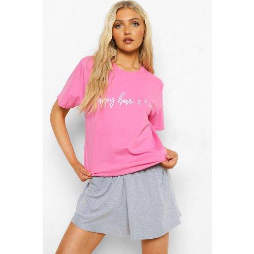 Tall - T-Shirt Et Short De Pyjama - boohoo - Modalova