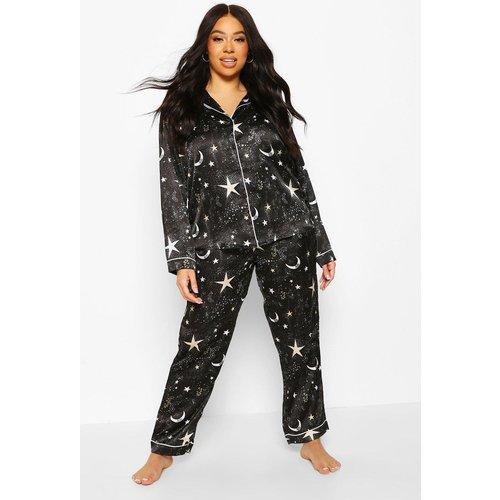 Pantalon De Pyjama Galaxy Star Plus - boohoo - Modalova
