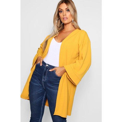 Manteau Ample À Manches Kimono Plus - boohoo - Modalova