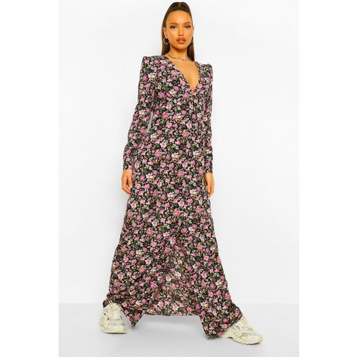 Tall - Robe Longue Fleurie - boohoo - Modalova