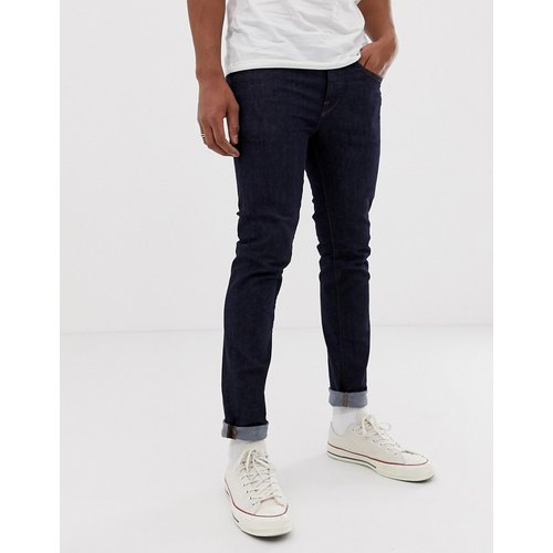Jeans Sale - Selected Homme - Skinny-Jeans in dunkelblauer Waschung - Blau