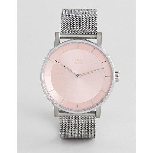 ADIDAS adidas - Z04 District M1 - Uhr mit silbernem Netzarmband - Silber