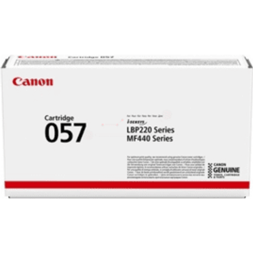 Canon Canon 057 Black Toner Cartridge (Original)