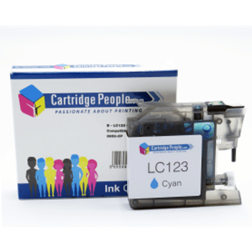 Brother Compatible Brother LC123 Cyan Ink Cartridge (Own Brand)