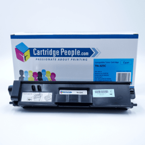 Brother Compatible Brother TN-325C High Capacity Cyan Toner Cartridge (Own Brand)
