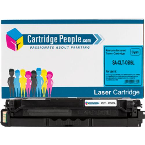 Samsung Compatible CLT-C506L (SU038A) Cyan High Capacity Toner Cartridge (Own Brand)