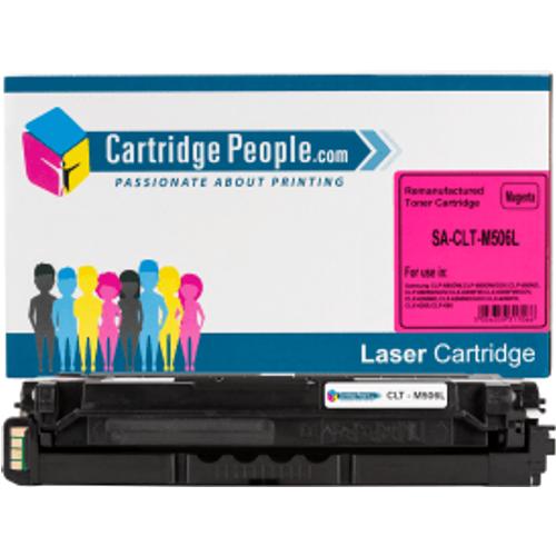 Samsung Compatible CLT-M506L (SU305A) Magenta High Capacity Toner Cartridge (Own Brand)