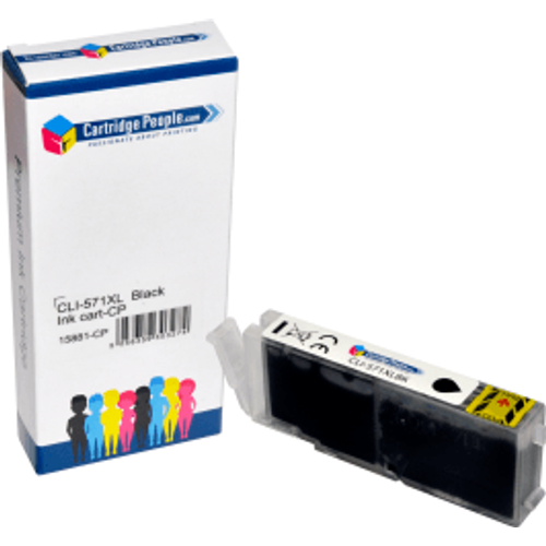 Canon Compatible Canon CLI-571BKXL Black High Capacity Ink Cartridge (Own Brand)