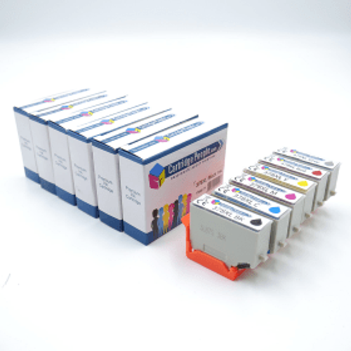 Epson Compatible Epson 378XL / 478XL Black & Colour High Capacity Ink Cartridge 6 Pack (Own Brand)