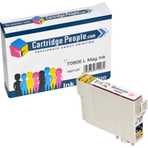 Epson Compatible Epson T0806 Light Magenta Ink Cartridge (Own Brand)