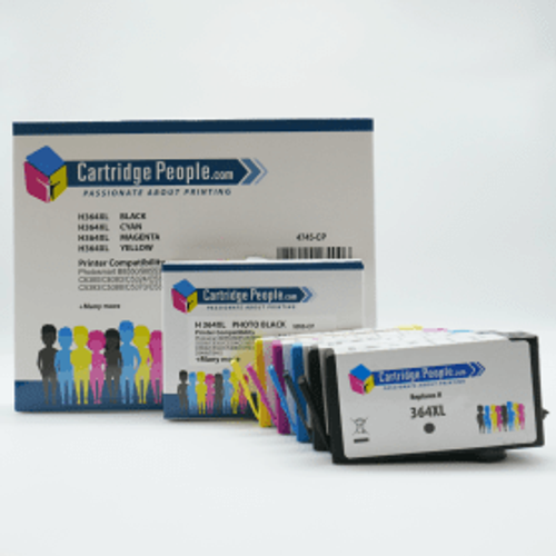 HP Compatible HP 364XL BK/C/M/Y/PBK Ink Cartridge 5 Pack (Own Brand)