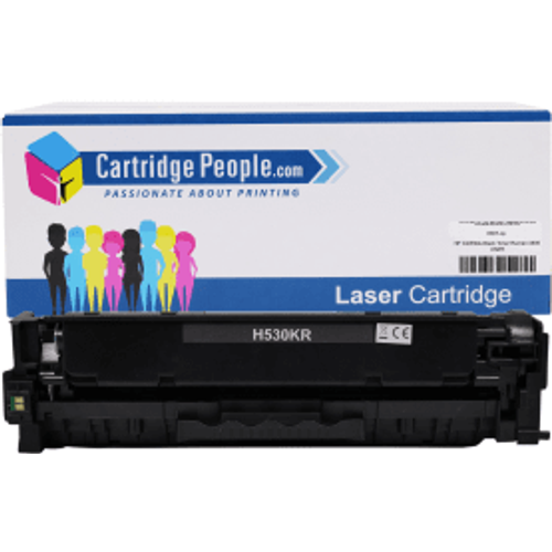 HP Compatible HP 304A Black Toner Cartridge (Own Brand) - CC530A