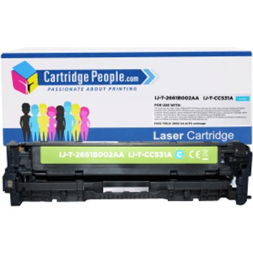 HP Compatible HP 304A Cyan Toner Cartridge (Own Brand) - CC531A