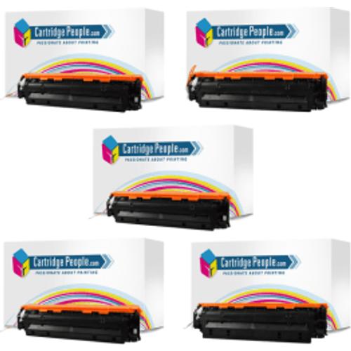 HP Compatible HP 304A ( CC530x2 / CC531 / CC533 / CC532 ) Black and Colour Toner Cartridge 5 Pack (Own Brand)