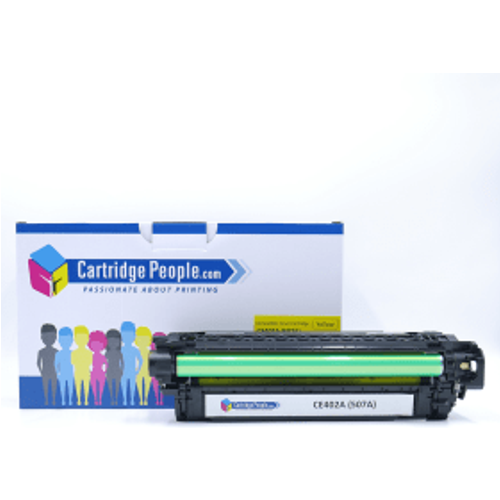 HP Compatible HP 507A Yellow Toner Cartridge (Own Brand)- CE402A