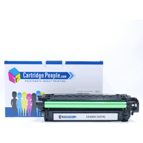 HP Compatible HP 507X Black High Capacity Toner Cartridge (Own Brand)- CE400X