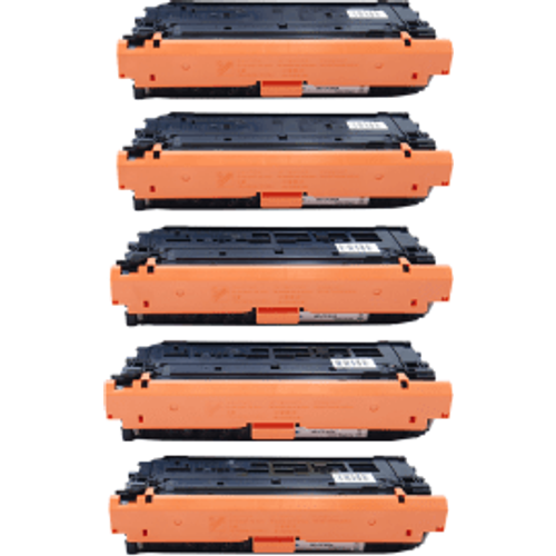 HP Compatible HP 508A (CF360Ax2/61A/62A/63A) Black and Colour Toner 5 Pack (Own Brand)