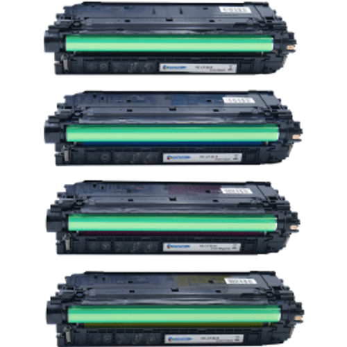 HP Compatible HP 508X (CF360X/61X/62X/63X) High Yield Black and Colour Toner 4 Pack (Own Brand)