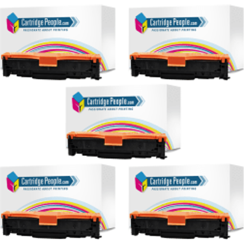 HP Compatible HP 312A (CF380X/1/2/3A) Compatible Black and Colour Toner Multipack (Own Brand)