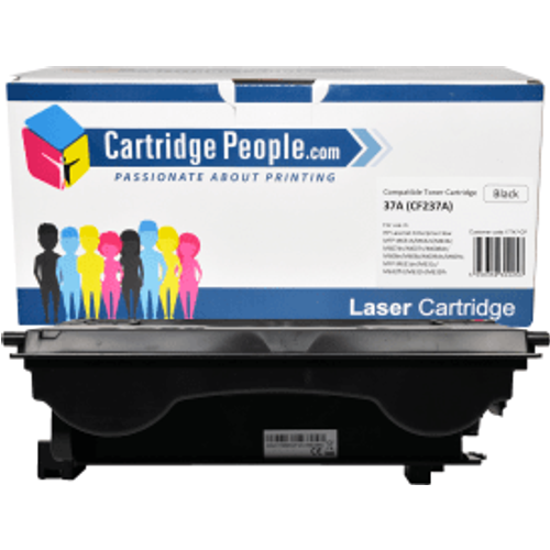 HP Compatible HP 37A Black Toner Cartridge- CF237A (Own Brand)