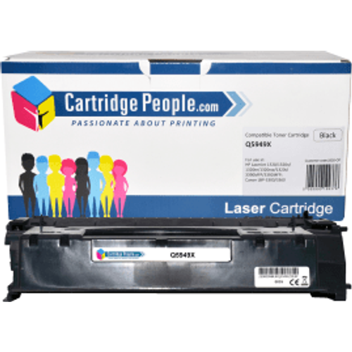 HP Compatible HP 49X Black High Capacity Toner Cartridge (Own Brand)- Q5949X
