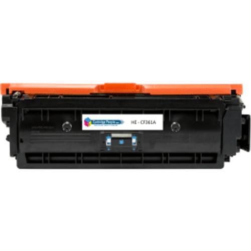 HP Compatible HP 508A Cyan Toner Cartridge (Own Brand)- CF361A