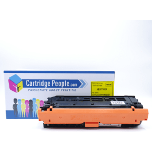 HP Compatible HP 508A Yellow Toner Cartridge (Own Brand)- CF362A