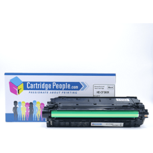 HP Compatible HP 508X Black High Capacity Toner Cartridge (Own Brand)- CF360X