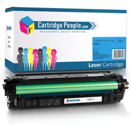 HP Compatible HP 508X Cyan High Capacity Toner Cartridge (Own Brand)- CF361X