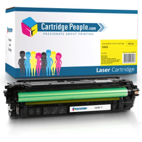 HP Compatible HP 508X Yellow High Capacity Toner Cartridge (Own Brand)- CF362X