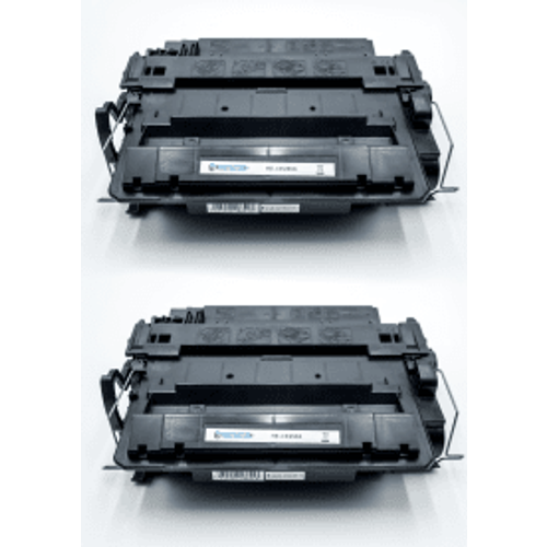HP Cartridge People HP 55X ( CE255X ) Compatible High Yield Black Toner Cartridge Twinpack (Own Brand)
