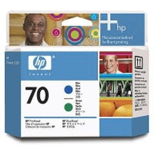 HP HP 70 ( C9408A ) Original Blue and Green Printhead