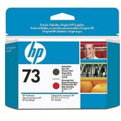 HP HP 73 ( CD949A ) Original Matte Black and Chromatic Red Printhead