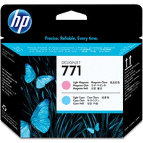 HP HP 771 ( CE019A ) Original Light Magenta / Light Cyan Printhead